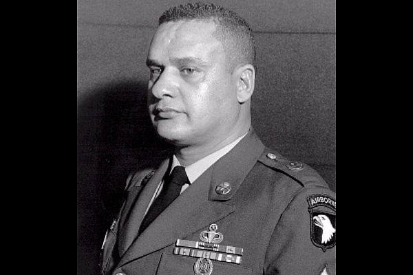 Sfc. Anderson (then S/Sgt.), distinguished himself by conspicuous gallantry and intrepidity in action during the Vietnam War. (DoD photo)
