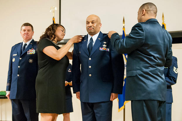 Air Force promotion to colonel