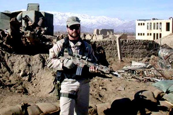 Air Force Tech. Sgt. John Chapman, who died in an attack by Al-Quaida and Taliban forces, is being considered for the Medal of Honor. (US Air Force photo)