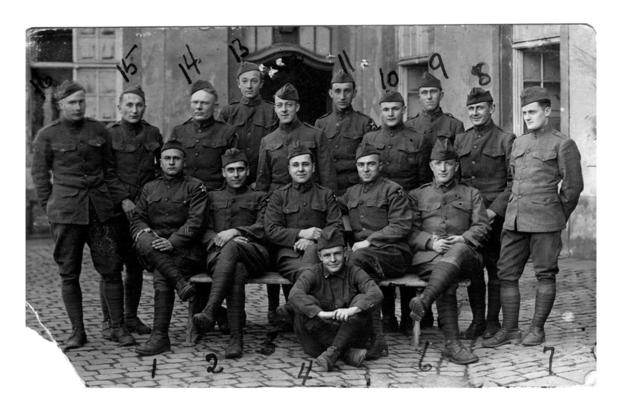 U.S. Army Soldiers in Germany during World War I