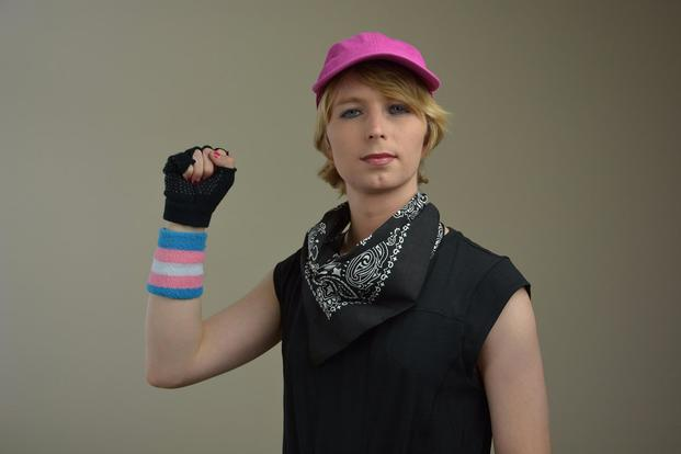 Chelsea Manning. Photo via Twitter