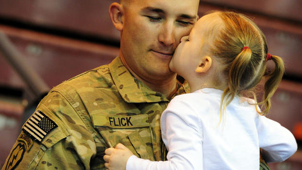 Best soldier homecoming videos