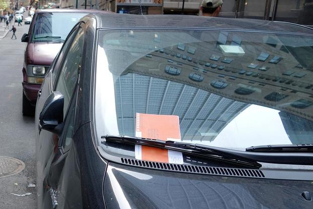 Parking ticket (State of New York photo)