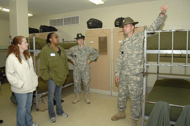 Hung military guys