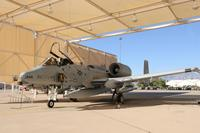FILE -- A U.S. Air Force A-10 Thunderbolt II sits beneath a sunshade at Davis-Monthan Air Force Base, Ariz., Oct. 25, 2013. (U.S. Air Force/Airman 1st Class Saphfire Cook/Released