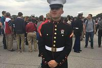 Becket Kiernan died suddenly Feb. 5 at Marine Corps Base 29 Palms in California from an aggressive bacterial infection. (Facebook Photo)