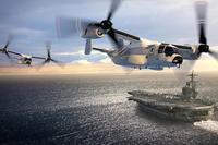 Boeing Defense released artwork showing the new CMV-22 Osprey variant for the Navy. Via Twitter