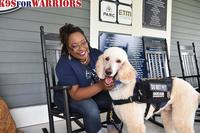 K9s for Warriors' end goal is to give all veterans access to Service Dogs if they choose. (Image: Courtesy of K9s for Warriors)