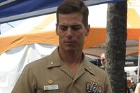 Capt. David Haas. (Mass Communication Specialist 1st Class Christopher D. Blachly/Navy)