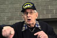 Edgar Harrell, survivor of the USS Indianapolis. YouTube screenshot