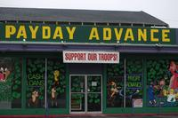 A payday lender near Camp Pendleton in California. (Marine Corps photo)