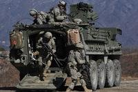 Stryker combat vehicle