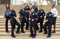 Police officers group shot.
