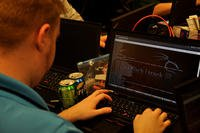 Hacker at Global CyberLympics World Finals