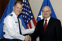 Air Force officer and CEO