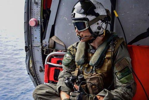 The U.S. Navy, Marine Corps, Coast Guard and Philippine coast guard have flown more than 110 sorties and searched 13,000 square nautical miles in search of a Marine reported overboard near the Philippines last week. After a five-day search, the at-sea search-and-rescue mission has concluded. (Marine Corps photo)