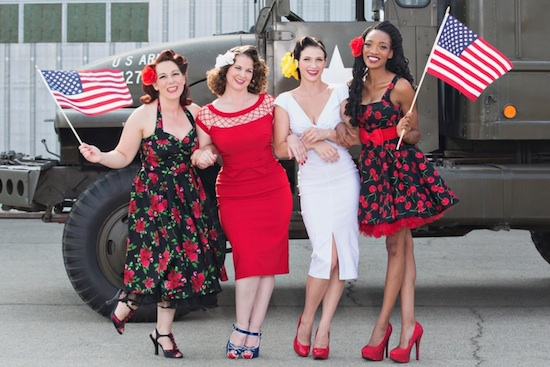 Go All Veteran With the 'Pin-ups For Vets' 2015 Calendar ...